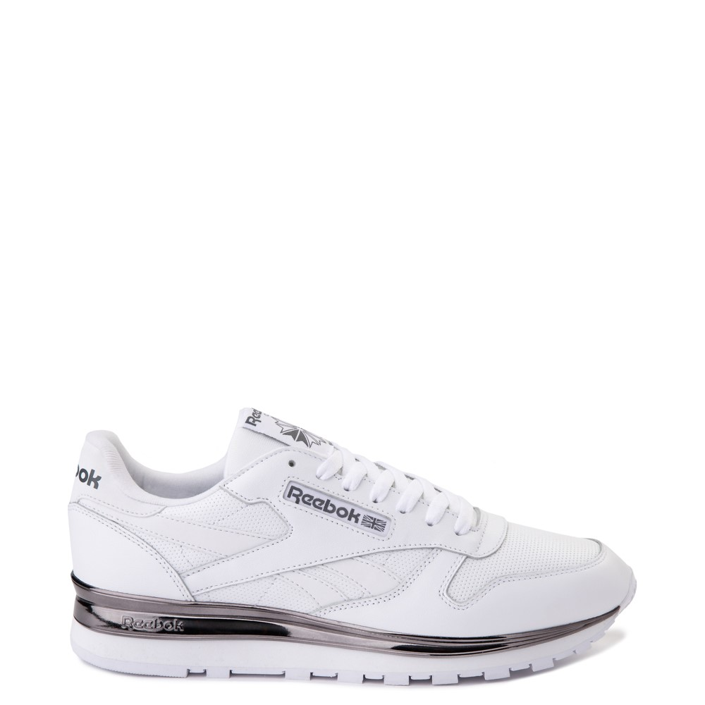Mens Reebok Classic Athletic Shoe - White / Charcoal