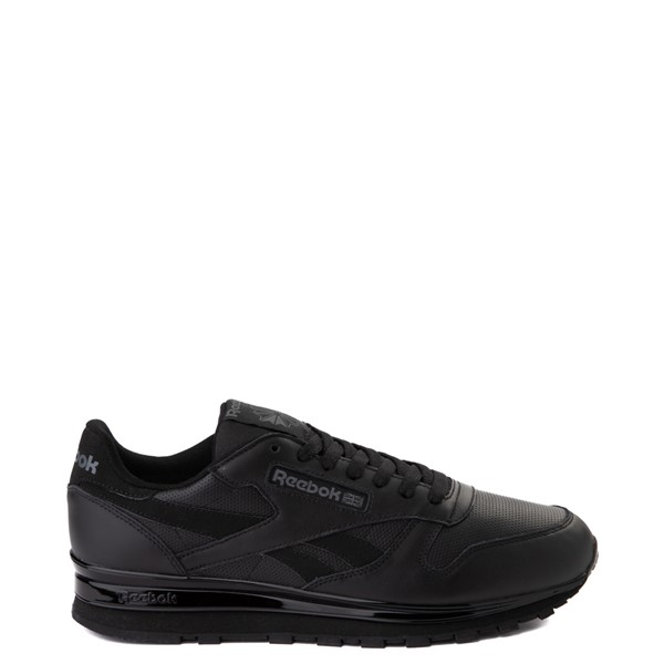 Mens Reebok Classic Leather Clip Athletic Shoe - Black