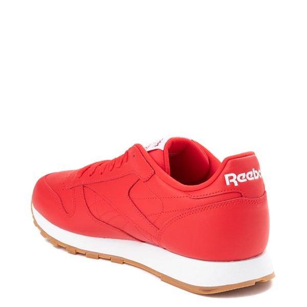alternate view Mens Reebok Classic Athletic Shoe - Red / GumALT1