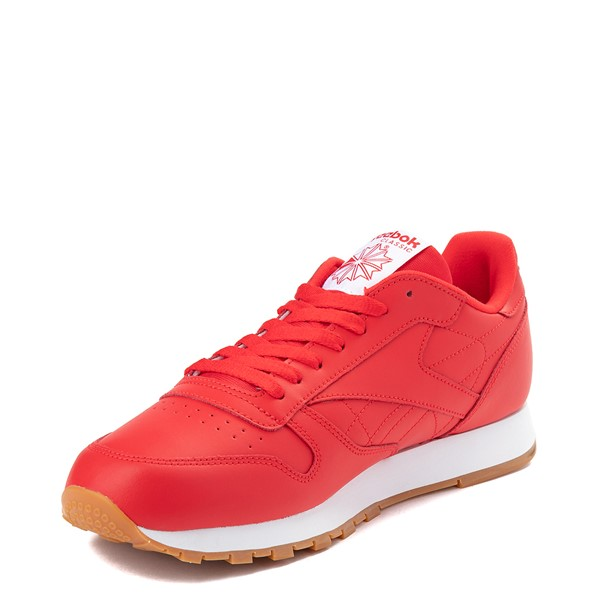 alternate view Mens Reebok Classic Athletic Shoe - Red / GumALT2