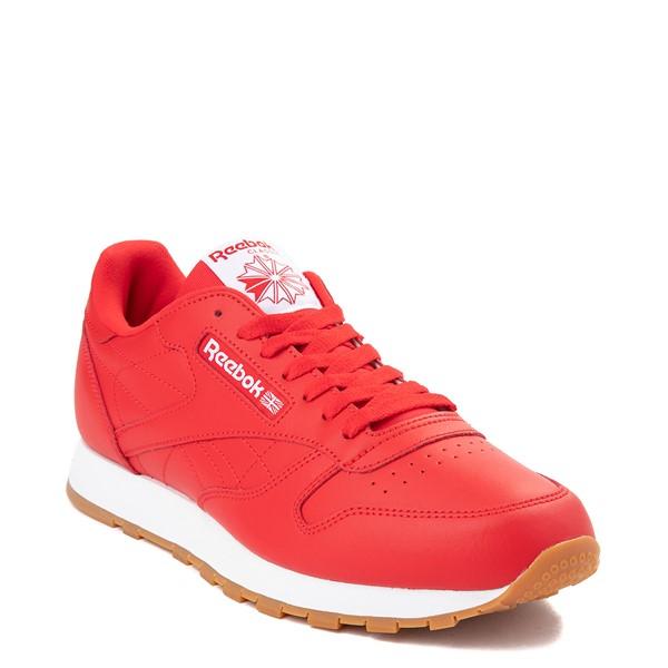 alternate view Mens Reebok Classic Athletic Shoe - Red / GumALT5