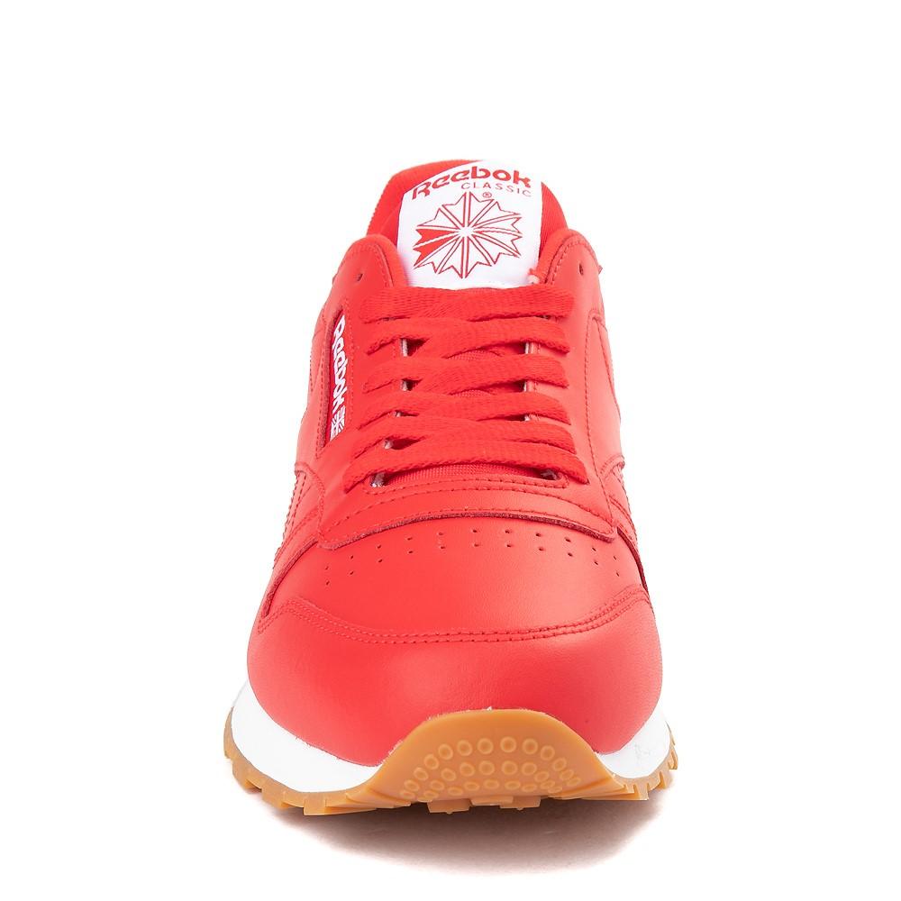 voltaje aniversario carrete  Mens Reebok Classic Athletic Shoe - Red / Gum | Journeys