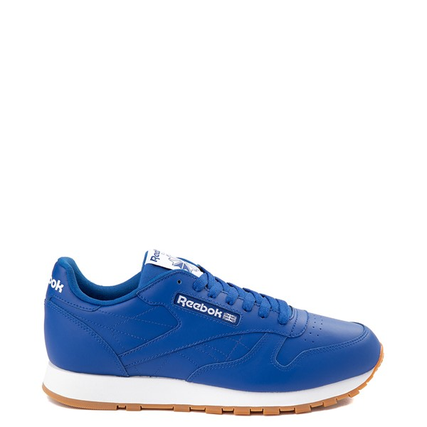 Mens Reebok Classic Athletic Shoe - Royal Blue / Gum