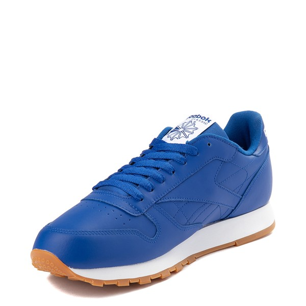 alternate view Mens Reebok Classic Athletic Shoe - Royal Blue / GumALT2