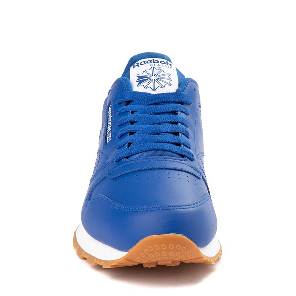 alternate view Mens Reebok Classic Athletic Shoe - Royal Blue / GumALT4