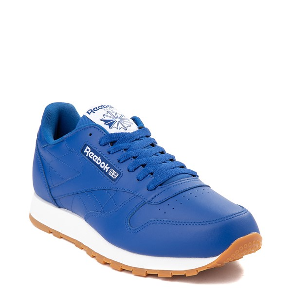 alternate view Mens Reebok Classic Athletic Shoe - Royal Blue / GumALT5