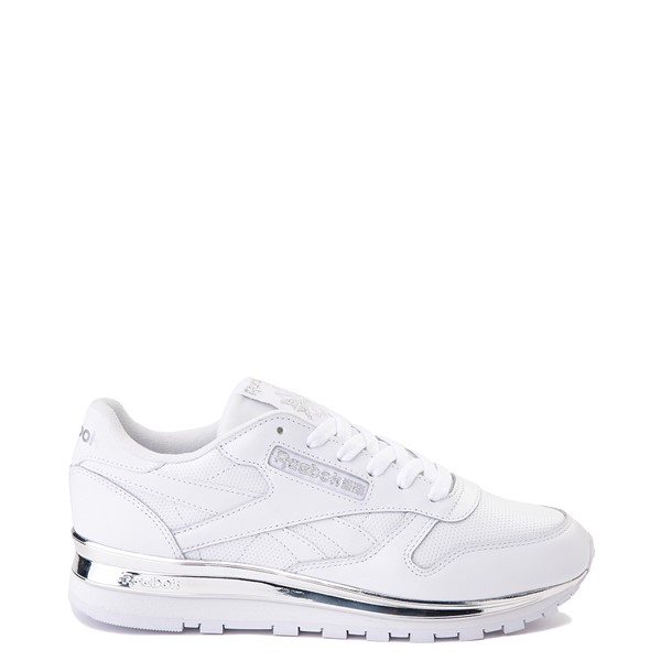 Womens Reebok Classic Athletic Shoe - White / Chrome