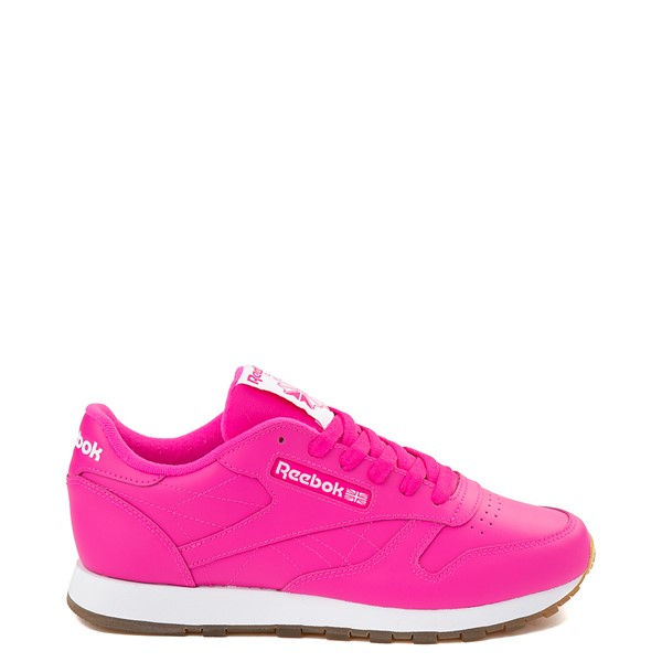 Main view of Womens Reebok Classic Athletic Shoe - Pink / Gum