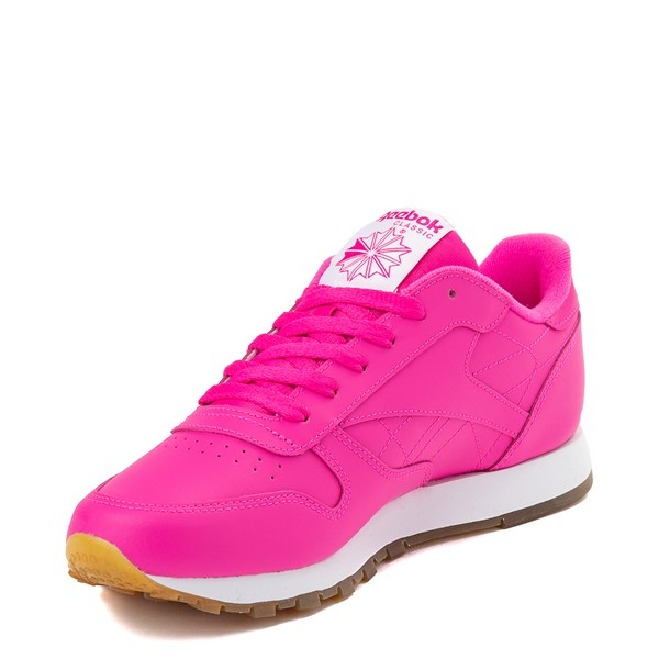 alternate view Womens Reebok Classic Athletic Shoe - Pink / GumALT2