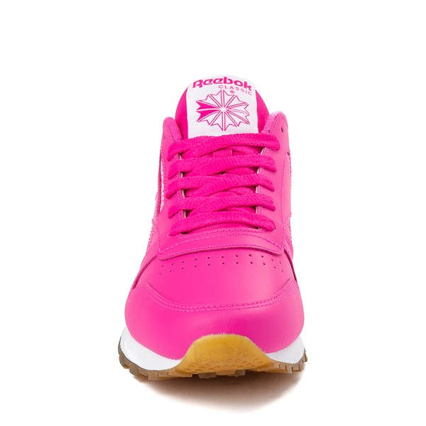alternate view Womens Reebok Classic Athletic Shoe - Pink / GumALT4