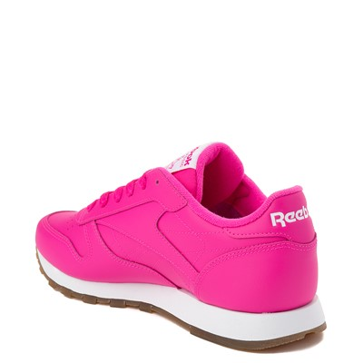 Alternate view of Womens Reebok Classic Athletic Shoe - Pink / Gum