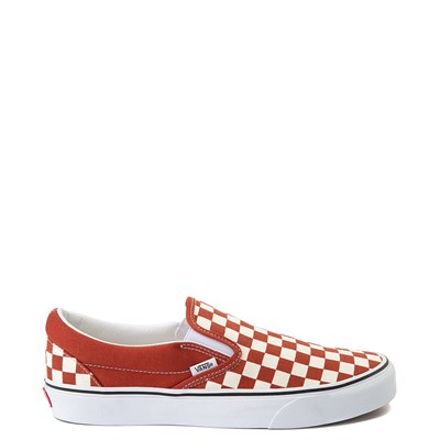 Main view of Vans Slip On Checkerboard Skate Shoe - Picante