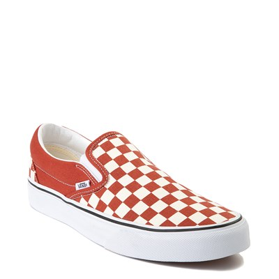 Alternate view of Vans Slip On Checkerboard Skate Shoe - Picante