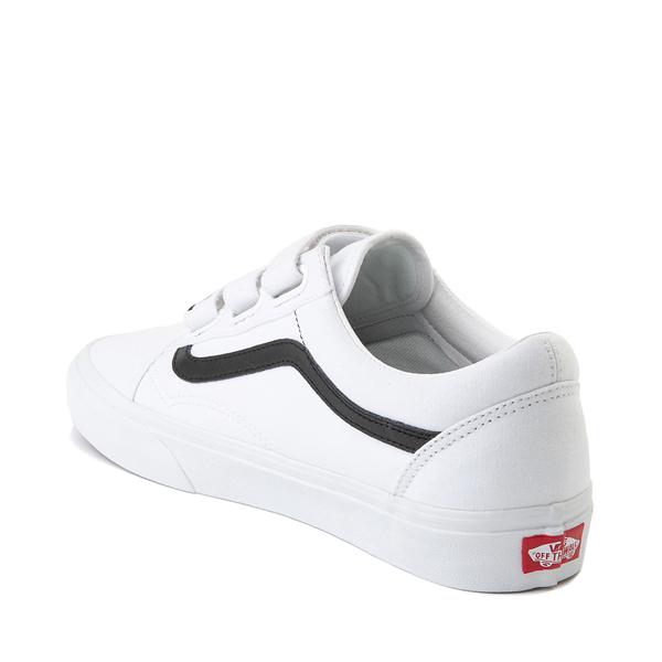 alternate view Vans Old Skool OTW Skate Shoe - White / BlackALT1