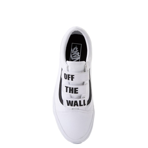 alternate view Vans Old Skool OTW Skate Shoe - White / BlackALT4B