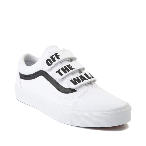 alternate view Vans Old Skool OTW Skate Shoe - White / BlackALT5