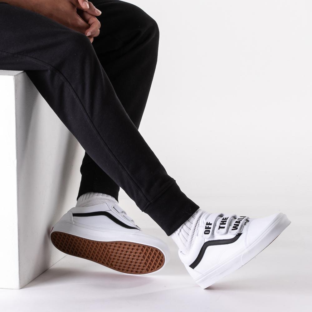 Vans Old Skool OTW Skate Shoe - White / Black