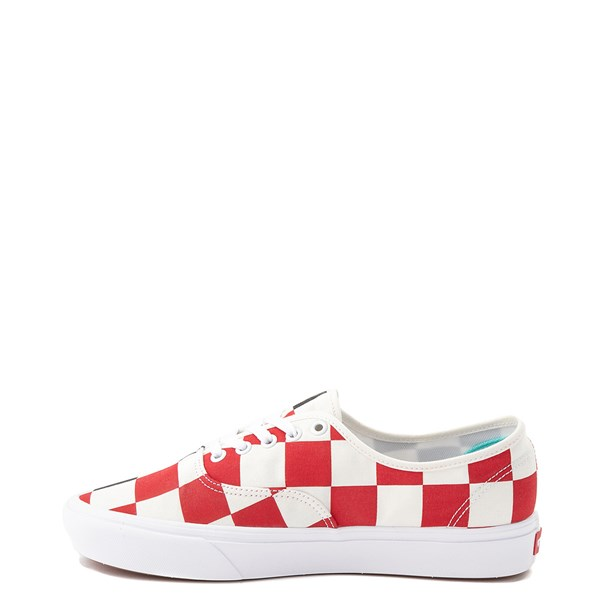 Alternate view of Vans Authentic Big Checkerboard Skate Shoe - Black / Red / White