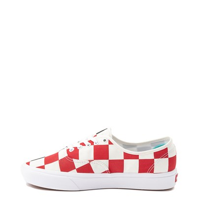 Alternate view of Vans Authentic ComfyCush® Big Checkerboard Skate Shoe - Black / Red / White