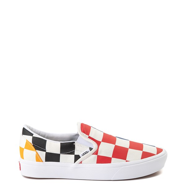 Vans Slip On ComfyCush® Big Checkerboard Skate Shoe - Multi