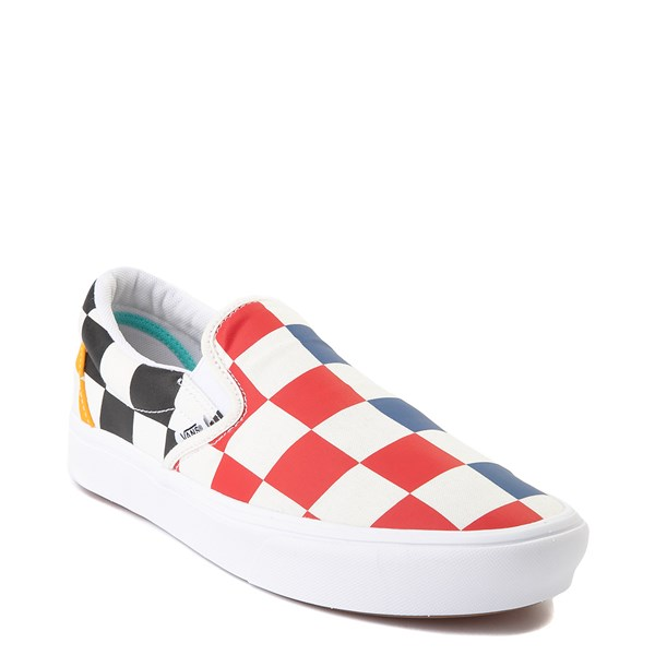alternate view Vans Slip On ComfyCush® Big Checkerboard Skate Shoe - MultiALT1B