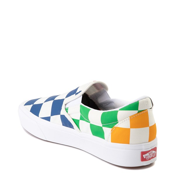 alternate view Vans Slip On ComfyCush® Big Checkerboard Skate Shoe - MultiALT2