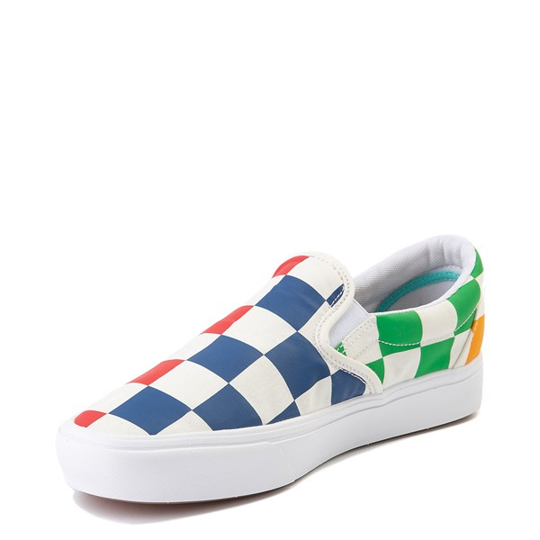 alternate view Vans Slip On ComfyCush® Big Checkerboard Skate Shoe - MultiALT3