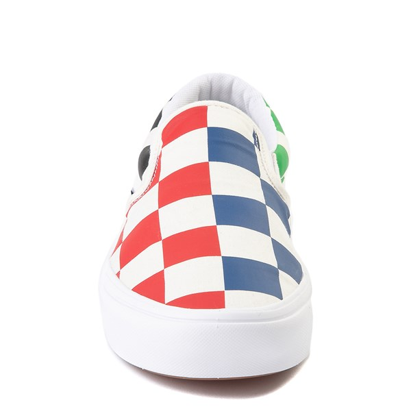 alternate view Vans Slip On ComfyCush® Big Checkerboard Skate Shoe - MultiALT4