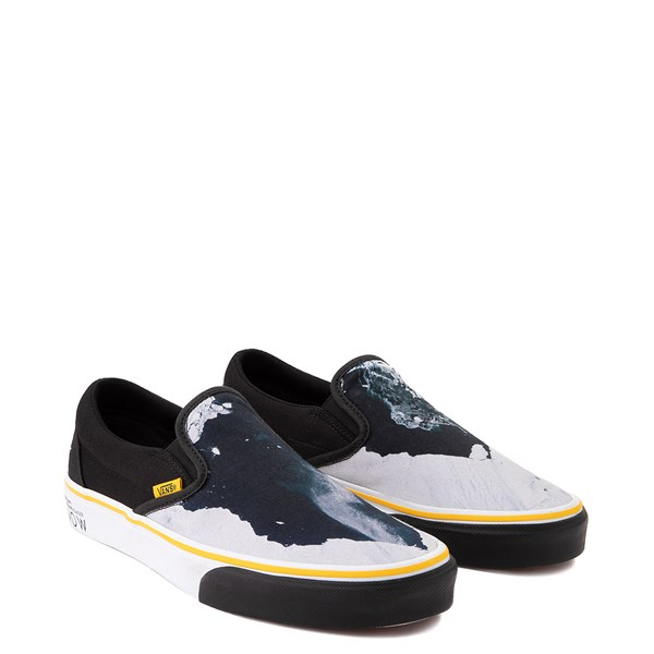 alternate view Vans x National Geographic Slip On Glaciers Skate Shoe - BlackALT1