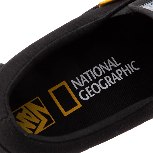 alternate view Vans x National Geographic Slip On Glaciers Skate Shoe - BlackALT10