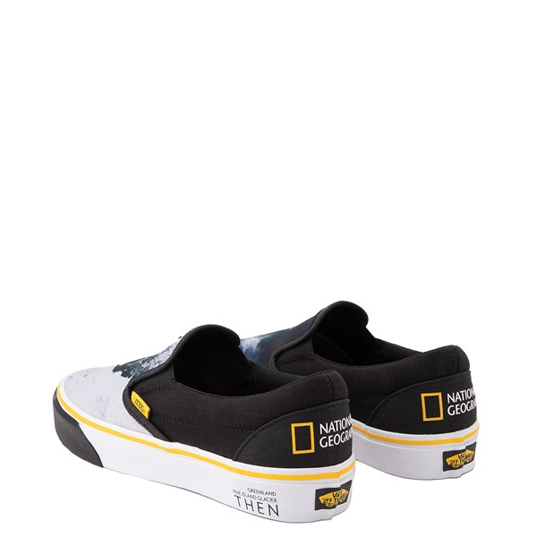 alternate view Vans x National Geographic Slip On Glaciers Skate Shoe - BlackALT2