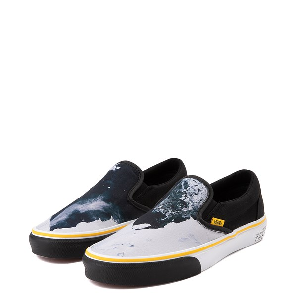 alternate view Vans x National Geographic Slip On Glaciers Skate Shoe - BlackALT3