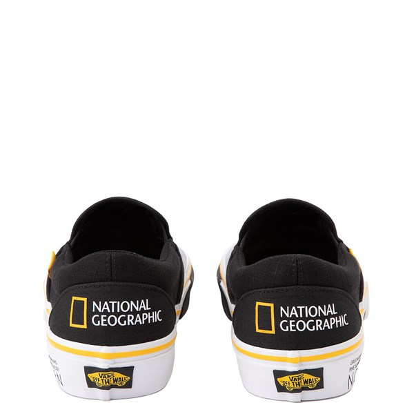 alternate view Vans x National Geographic Slip On Glaciers Skate Shoe - BlackALT7