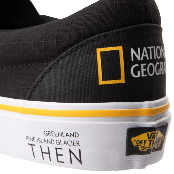 alternate view Vans x National Geographic Slip On Glaciers Skate Shoe - BlackALT8