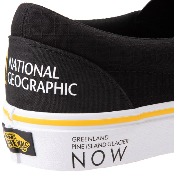 alternate view Vans x National Geographic Slip On Glaciers Skate Shoe - BlackALT9