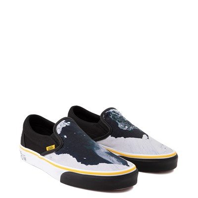 Alternate view of Vans x National Geographic Slip On Glaciers Skate Shoe - Black