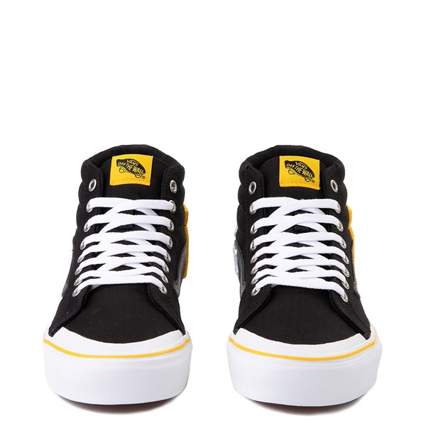 alternate view Vans x National Geographic Sk8 Hi 138 Reissue Logo Skate Shoe - BlackALT4