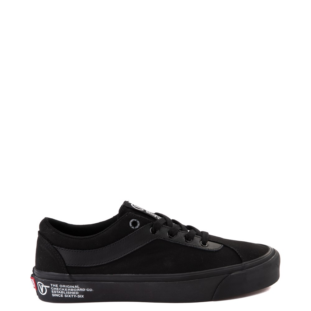 Vans Bold Ni Skate Shoe - Black Monochrome