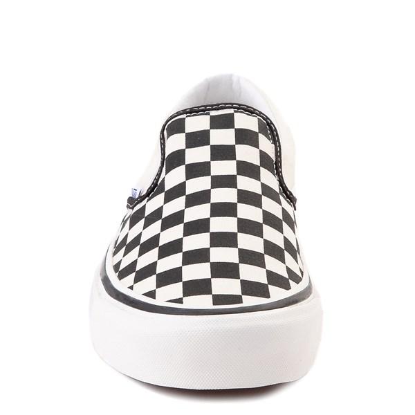 alternate view Vans Anaheim Factory Slip On Fast Times Checkerboard Skate Shoe - Black / WhiteALT4