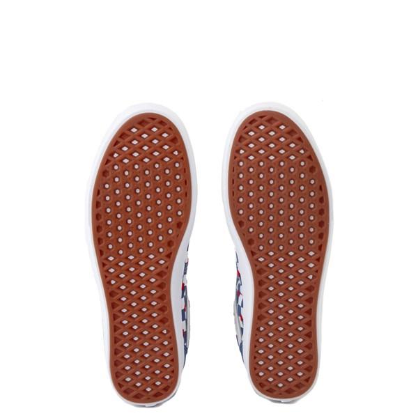 alternate view Vans Old Skool ComfyCush® Autism Awareness Checkerboard Skate Shoe - Blue / WhiteALT5
