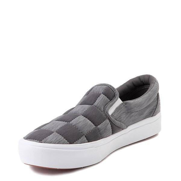 alternate view Vans Slip On ComfyCush® Autism Awareness Checkerboard Skate Shoe - GrayALT3
