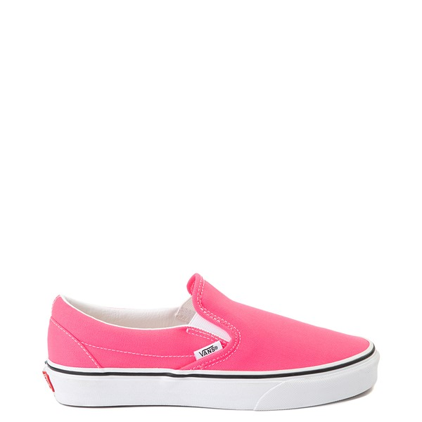 Main view of Vans Slip On Skate Shoe - Neon Pink
