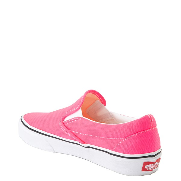 alternate view Vans Slip On Skate Shoe - Neon PinkALT1