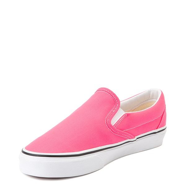 alternate view Vans Slip On Skate Shoe - Neon PinkALT2