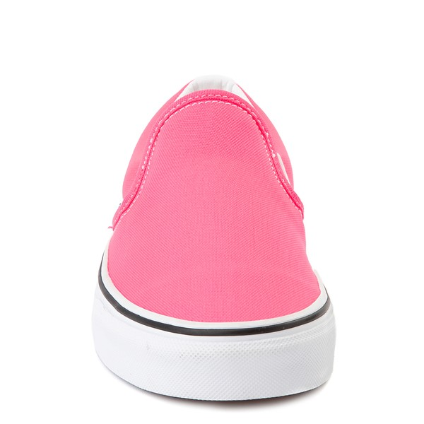 alternate view Vans Slip On Skate Shoe - Neon PinkALT4