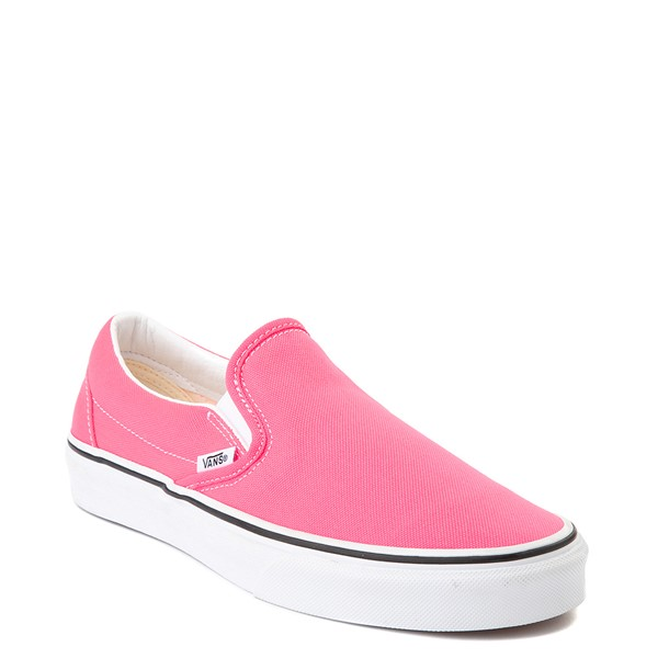 alternate view Vans Slip On Skate Shoe - Neon PinkALT5