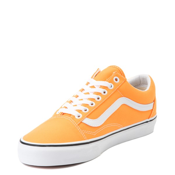 alternate view Vans Old Skool Skate Shoe - Neon OrangeALT2