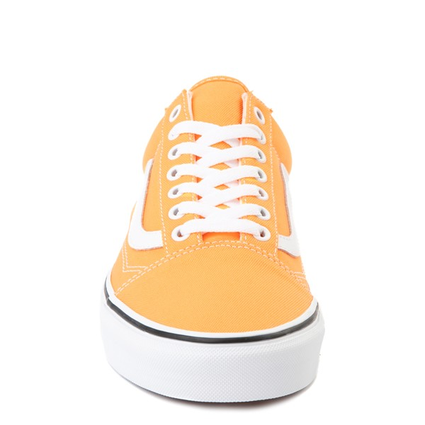 alternate view Vans Old Skool Skate Shoe - Neon OrangeALT4