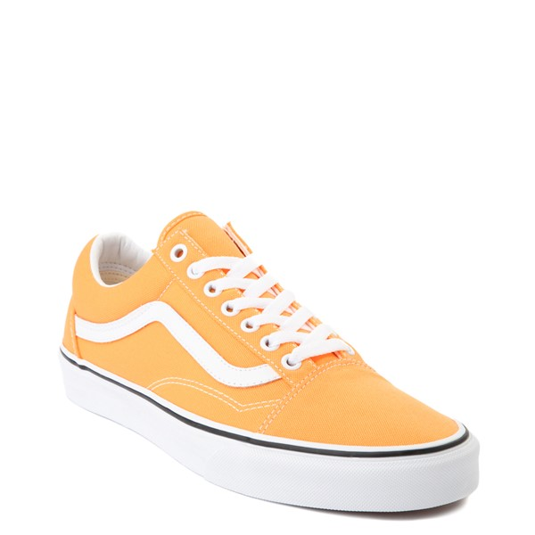 alternate view Vans Old Skool Skate Shoe - Neon OrangeALT5