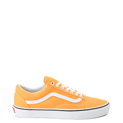 Main view of Vans Old Skool Skate Shoe - Neon Orange